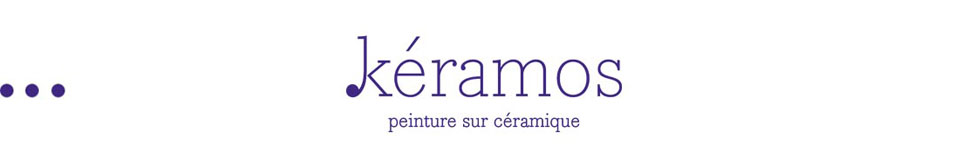 Keramos – Atelier de peinture sur céramique Logo